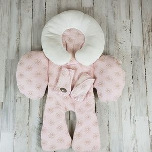 Baby Floral Pink/Cream Reversible Seat Support